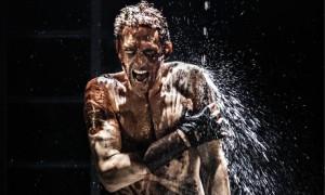 Tom Hiddleston as Coriolanus at the Donmar