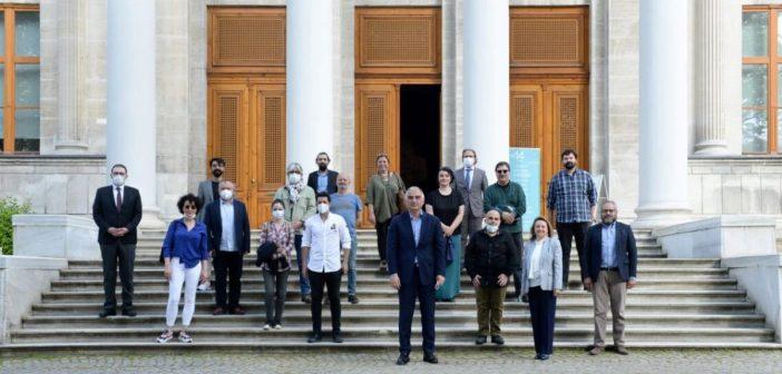 Tiyatrocular Kültür ve Turizm Bakanı ile Toplantı Yaptı